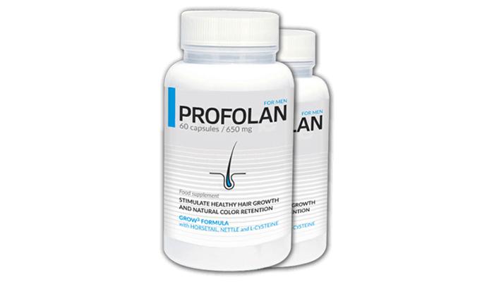 Profolan: stimuloi tehokkaasti hiustenkasvua sekä vahvistaa niiden luonnollista väriä