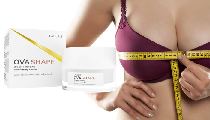Ovashape rintojen suurentamiseksi: rintojen koon suurentamisen — jopa 3 kolmeen kokoon asti
