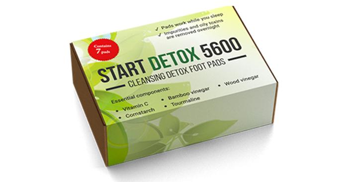Start Detox 5600 toksiineja vastaan: poistat kehostasi 2 kg myrkkyjä ja raskasmetalleja 1 yön aikana