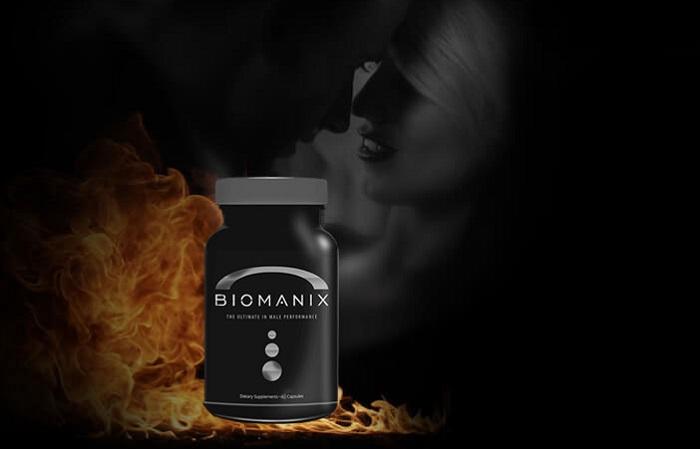 Biomanix teho: jäykkä ja pysyvä erektio!