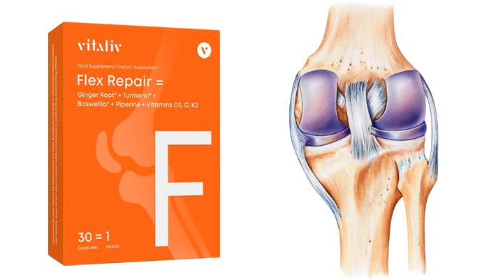 FlexRepair nivelille: tämä tarkoittaa 20-kertaista kipujen lievitystä