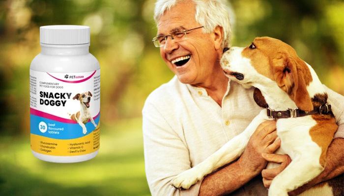 Snacky Doggy: 28 päivän kuluttua unohdat, että koirallasi on koskaan ollut niveliin ja heikkoon luustoon liittyviä ongelmia